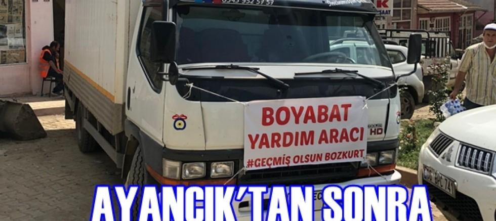 Boyabat'lı Esnaf Şadi Tuğrul Unan Ayancık'tan Sonra Bozkurt'ta