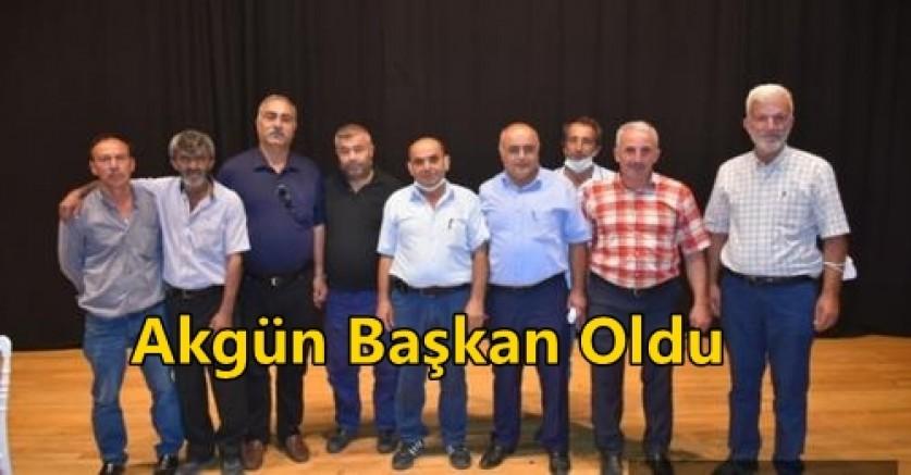 Boyabat Merkez ve Köy Muhtarları Başkanlığına Yakup Akgün seçildi.