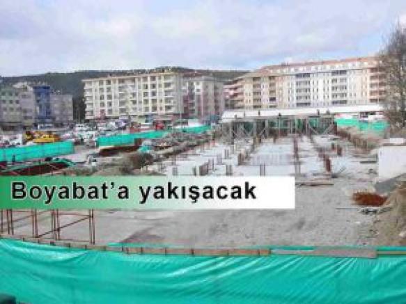 Boyabat Meydan Projesi Tam Gaz Devam Ediyor