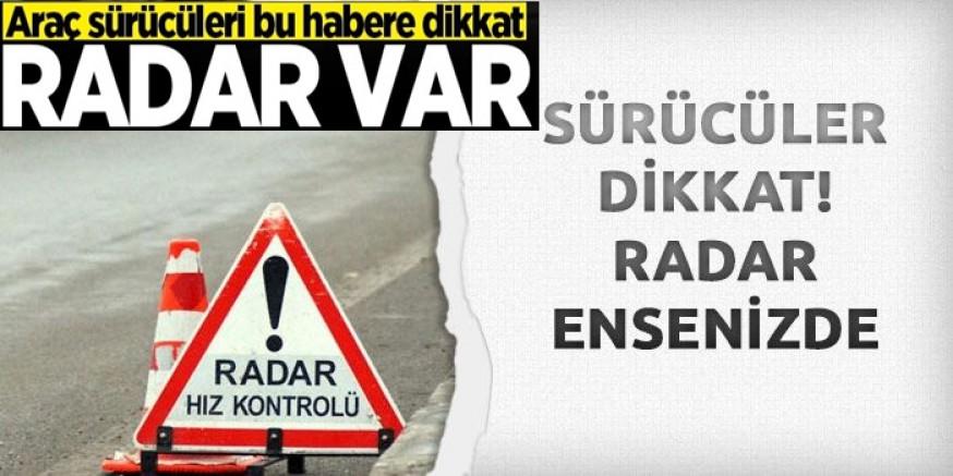 Boyabat'ta  Elektronik Hız Tespit Uygulamasına Geçilmiştir.  Radara Dikkat!