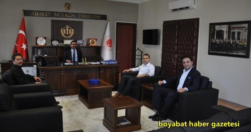 Cumhuriyet Başsavcısı Habibullah Keser Boyabat'ta  Görevine Başladı
