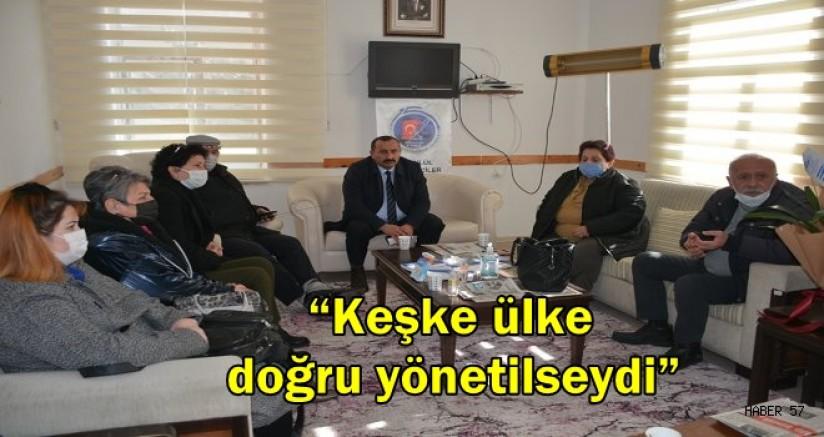 """İyi Parti Sinop İl Başkanı Yılmaz Şanlan """"Keşke ülke doğru yönetilseydi"""""""