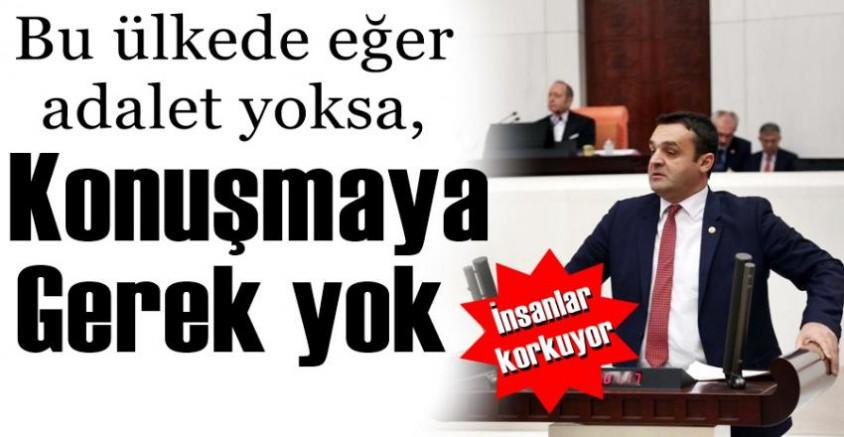 Karadeniz'in Konuşmaları Mecliste Dakikalarca Alkışlandı.