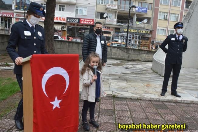 Polis Haftası Kapsamında Boyabat İlçe Emniyeti Faaliyetleri Etkinlikleri